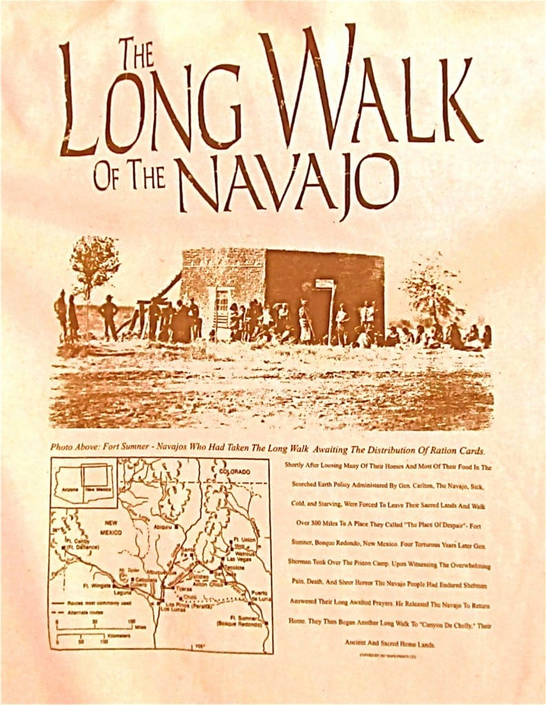 Long Walk of the Navajo | Native American World