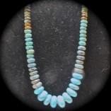 Turquoise & Stone Necklace - $132.00