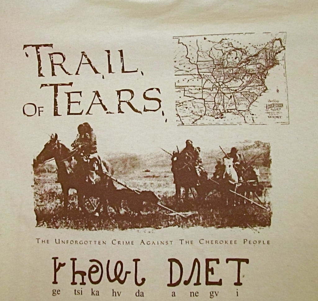 trail of tears and holocaust A brief history of the trail of tears migration from the original cherokee nation began in the early 1800's as cherokees, wary of white encroachment, moved west and settled in other areas of the country.