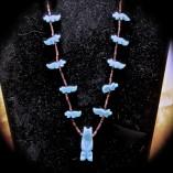 Turquoise Bear Fetish Necklace - $ 54.00