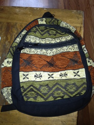 Backpack - Ecuador