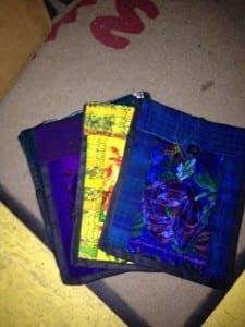 Cotton Passport Bag - Guatemala design