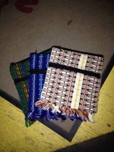 Cotton Passport bag - Ecuador